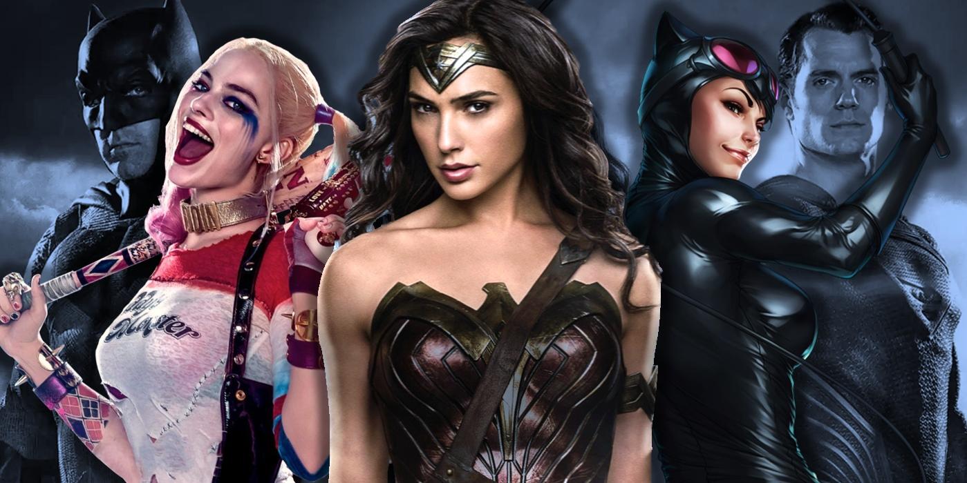 DC Movies Women Female Superheroes