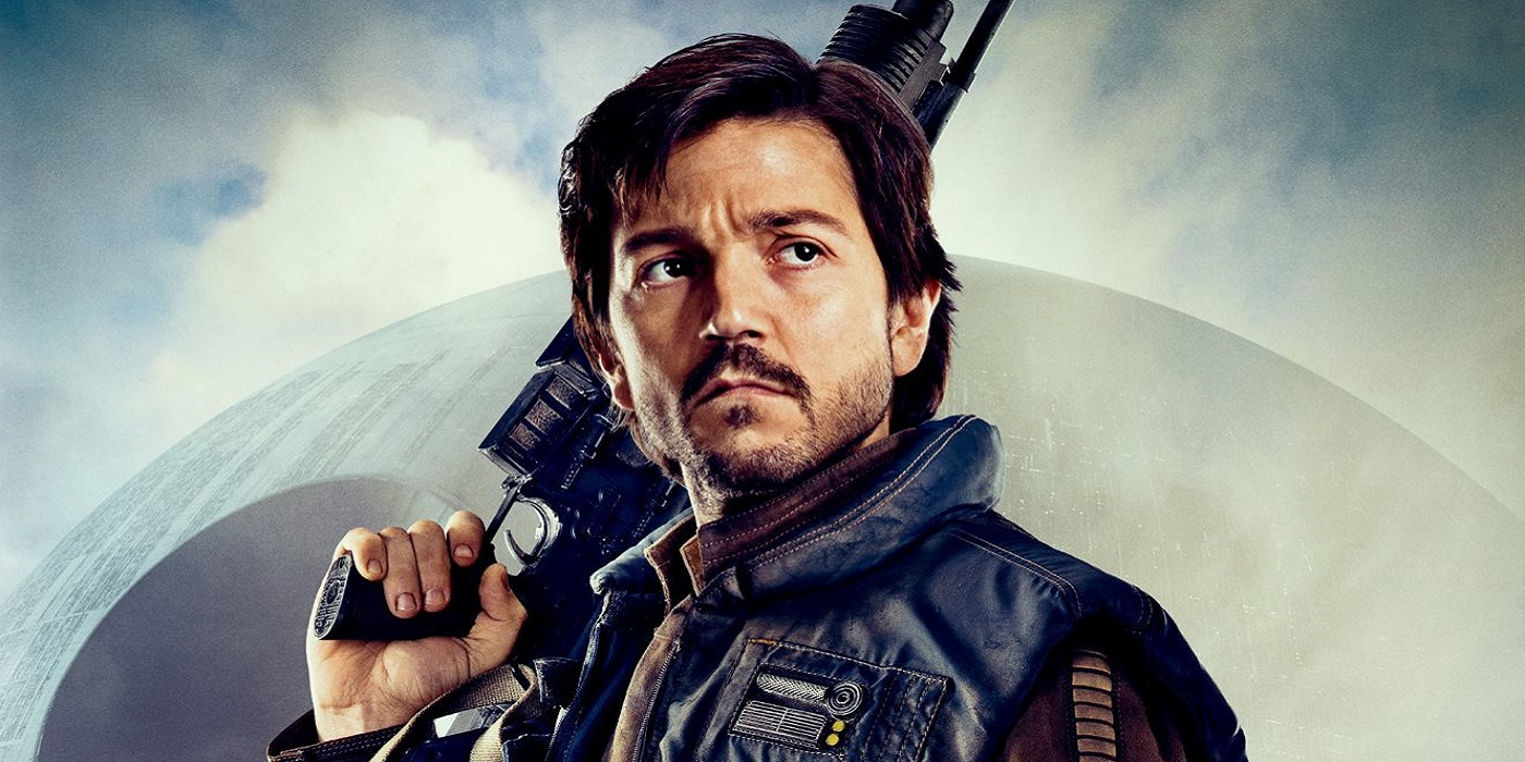 Diego Luna as Captain Cassian Andor in Rogue One A Star Wars Story Scarif