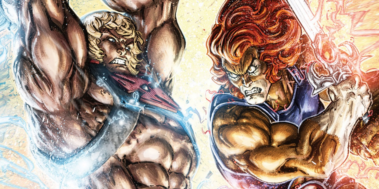 He-Man Lion-O ThunderCats Comic Fight