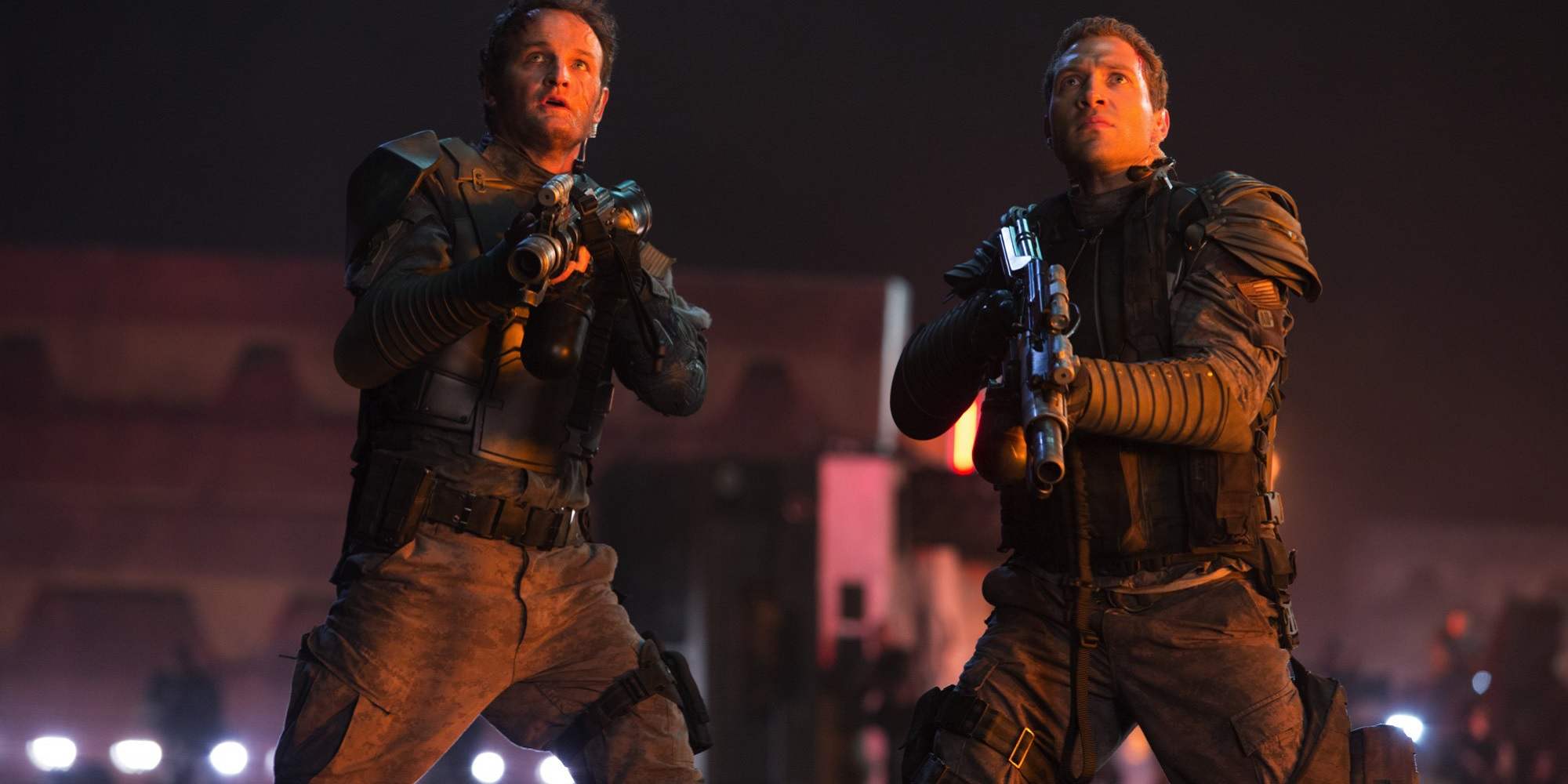 Jason Clarke and Jai Courtney in Terminator Genisys 18 Sequels That Never Should Have Happened