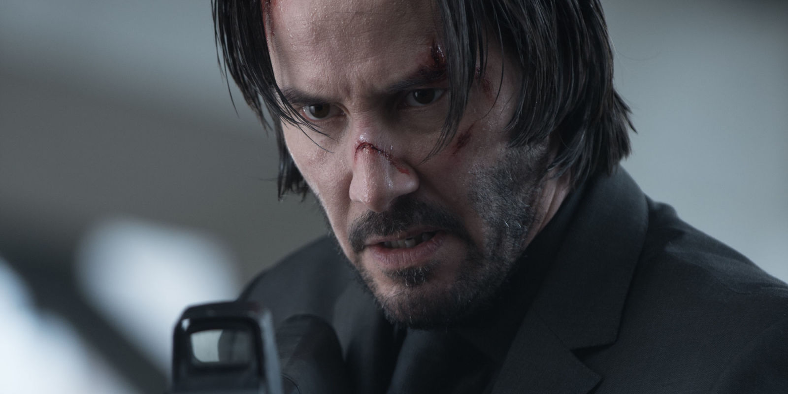 Keanu Reeves as John Wick in John Wick Chapter 2