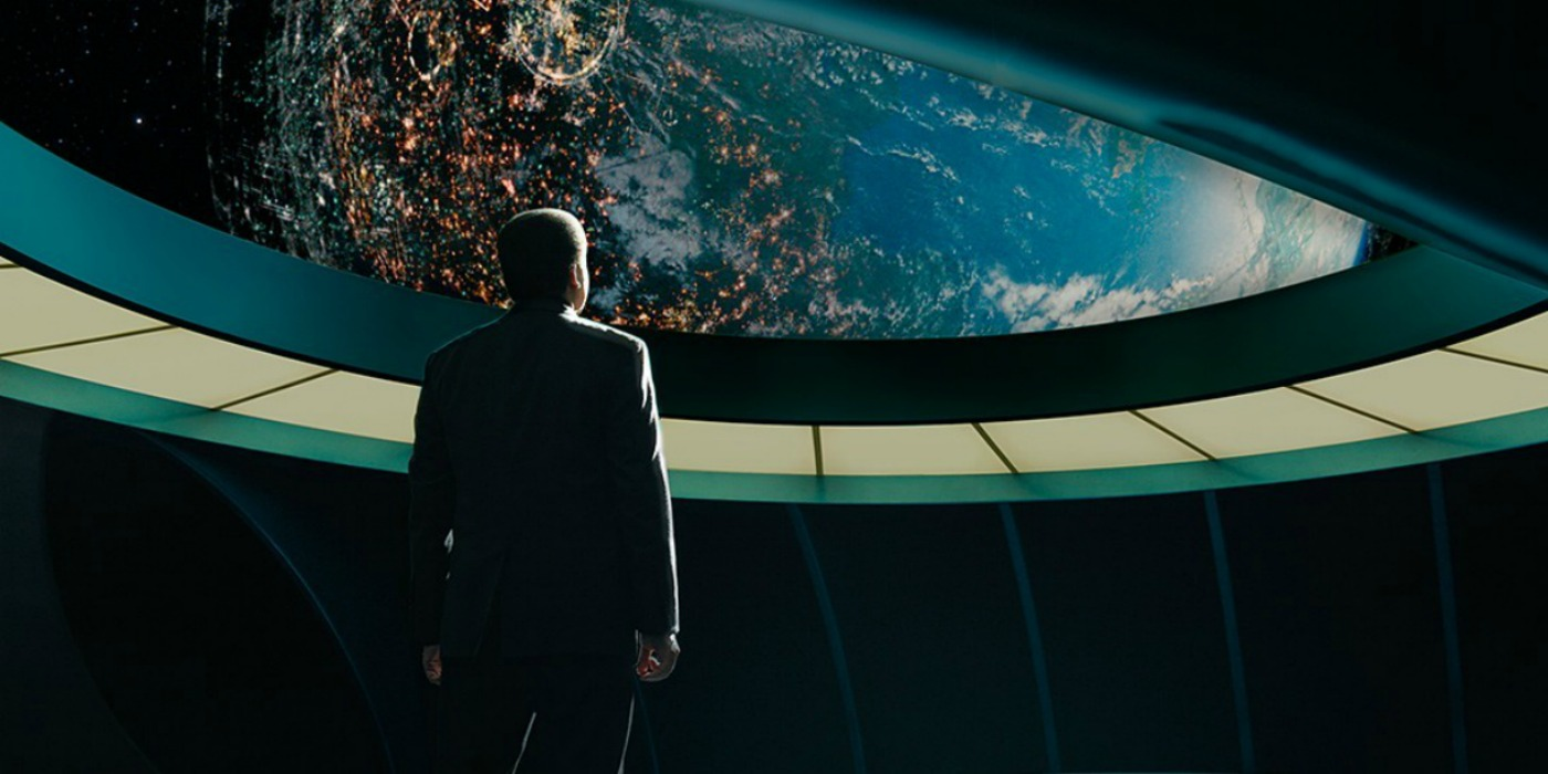 Neil Tyson DeGrasse in Cosmos A Spacetime Odyssey