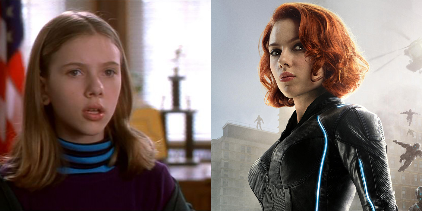 Scarlett Johansson Before and After Black Widow