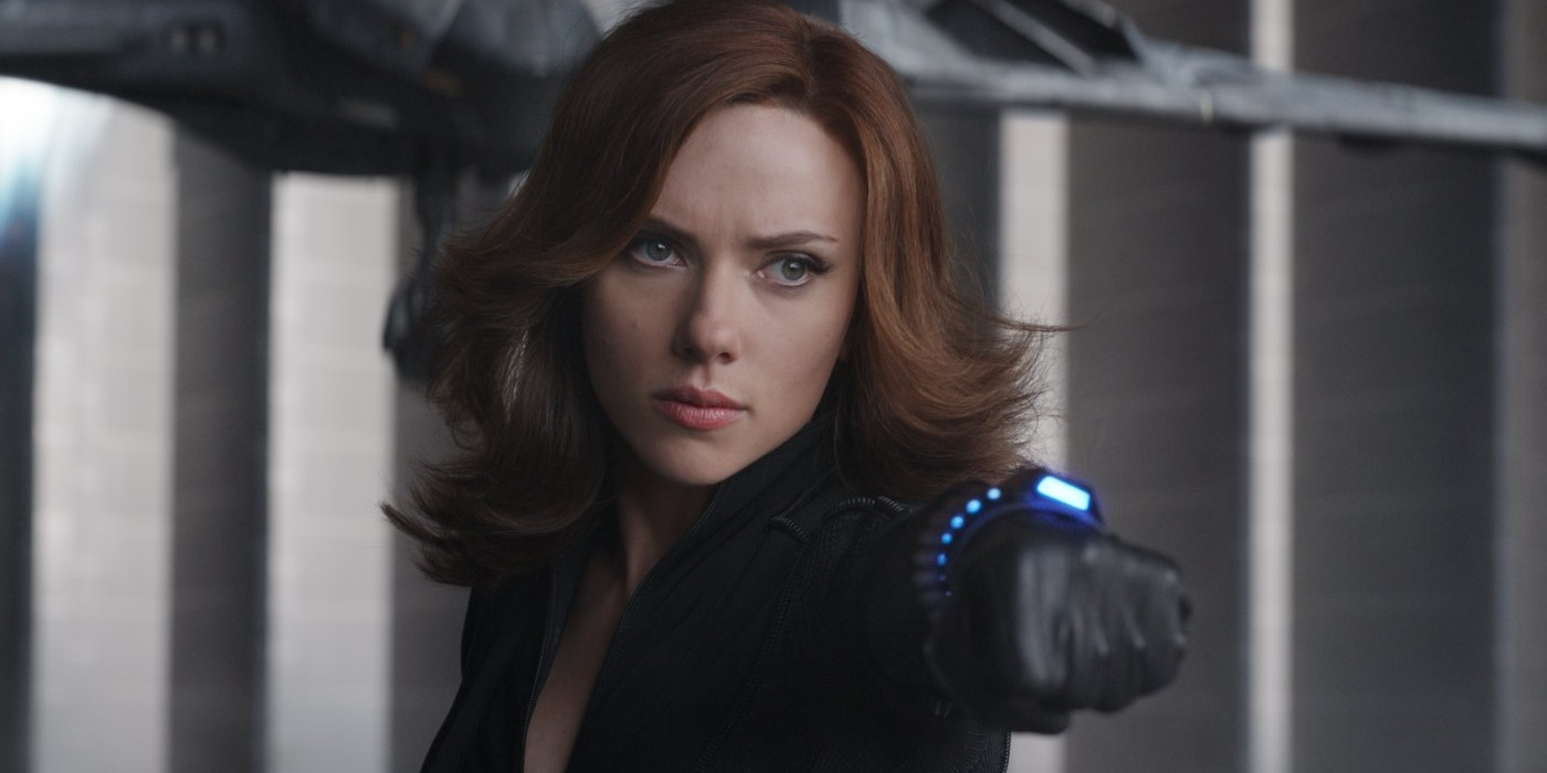 Scarlett Johansson as Black Widow