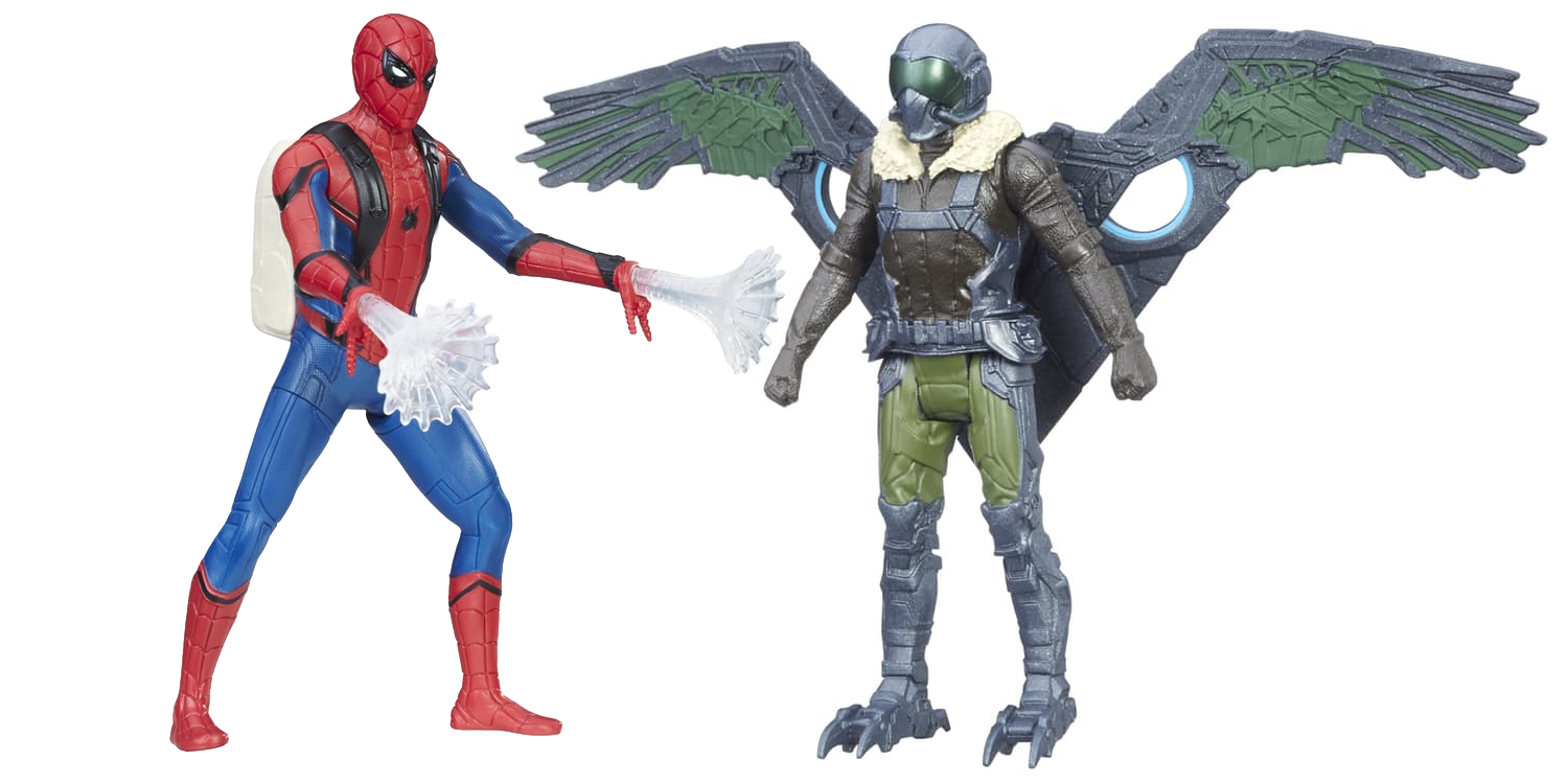 Kids Toys Action Figure: Spider-Man: Homecoming Hasbro Toyline Arrives