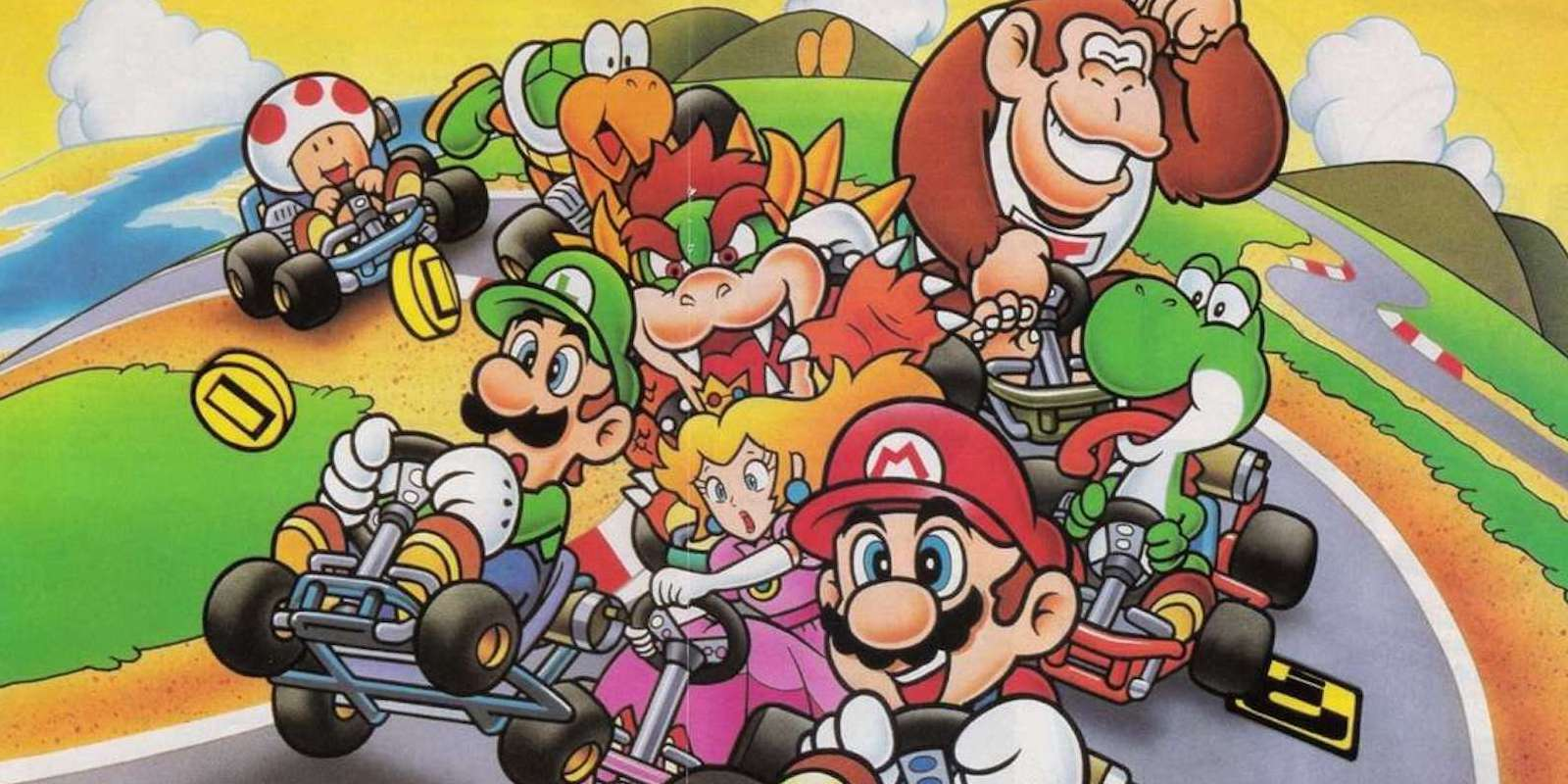 17 things you never knew about super mario kart. Black Bedroom Furniture Sets. Home Design Ideas