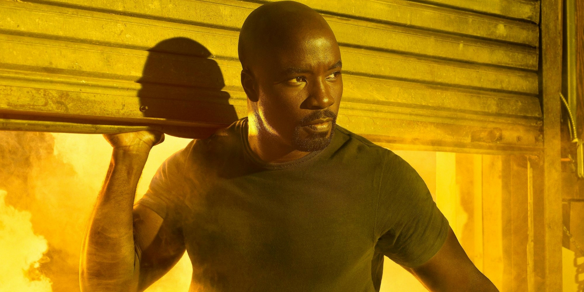 The Defenders - Mike Colter as Luke Cage