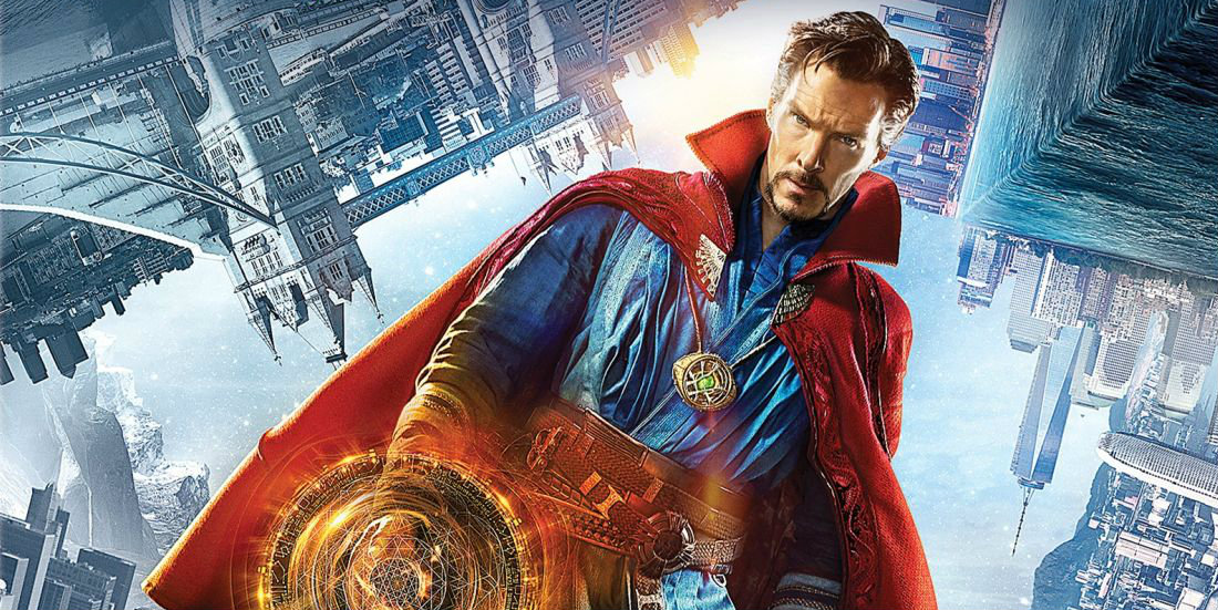 Doctor Strange Blu-ray/DVD cover (cropped)