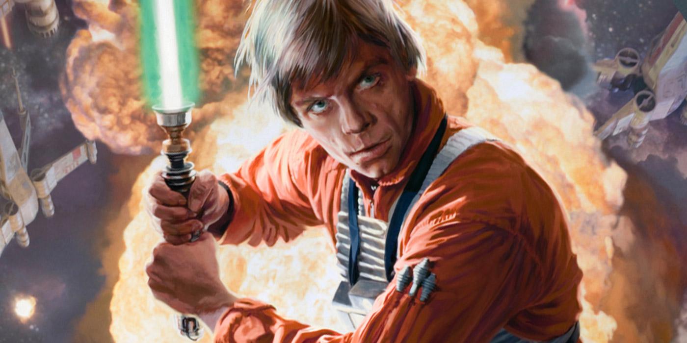 Luke Skywalker Lightsaber Fire