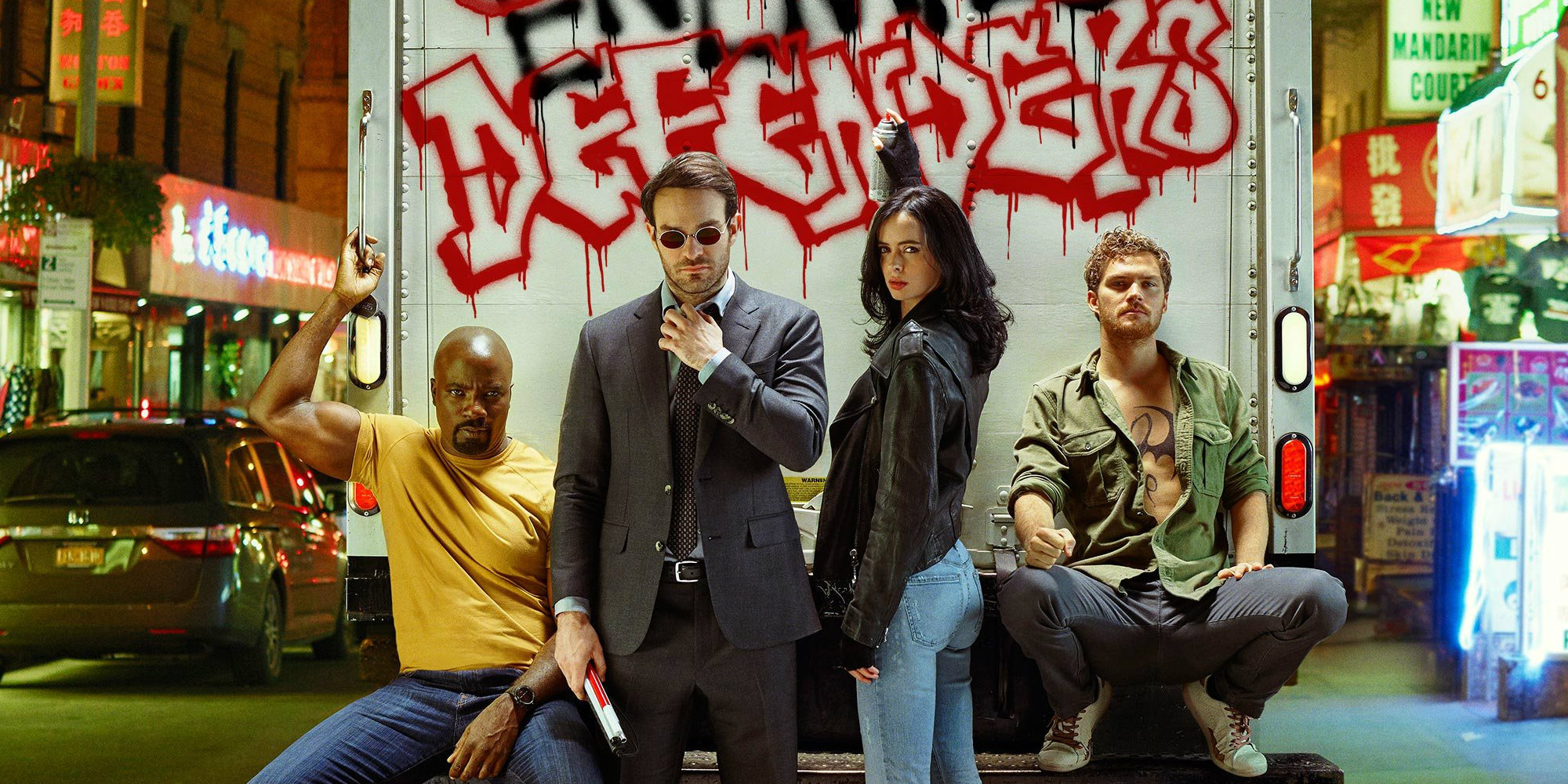 Image result for marvel the defenders