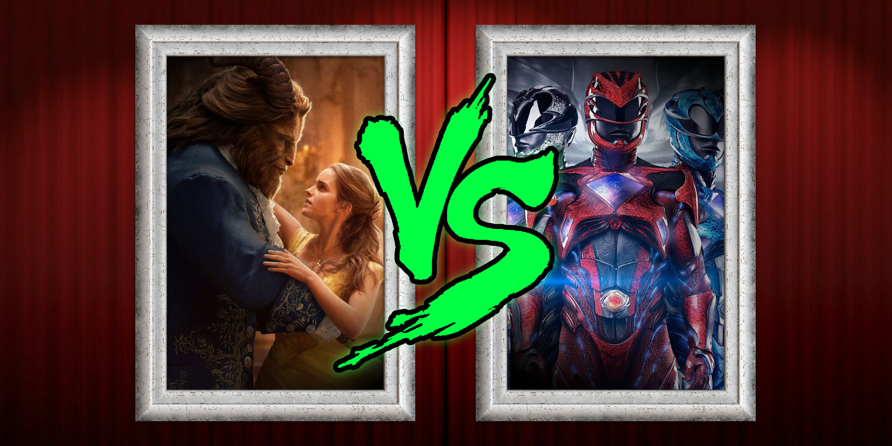 Box Office Prediction Power Rangers Vs Beauty And The Beast