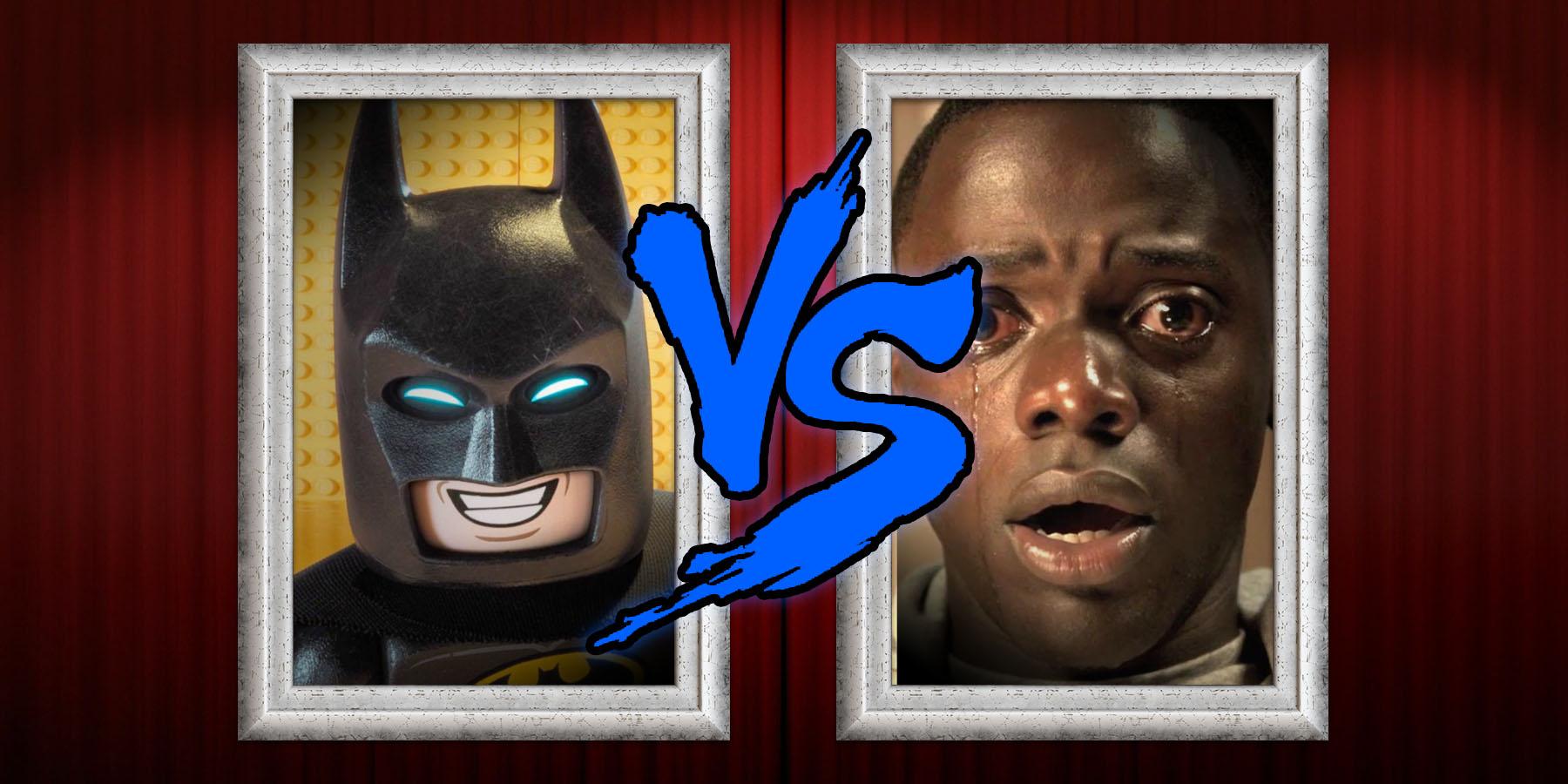 2017 Box Office - LEGO Batman vs Get Out
