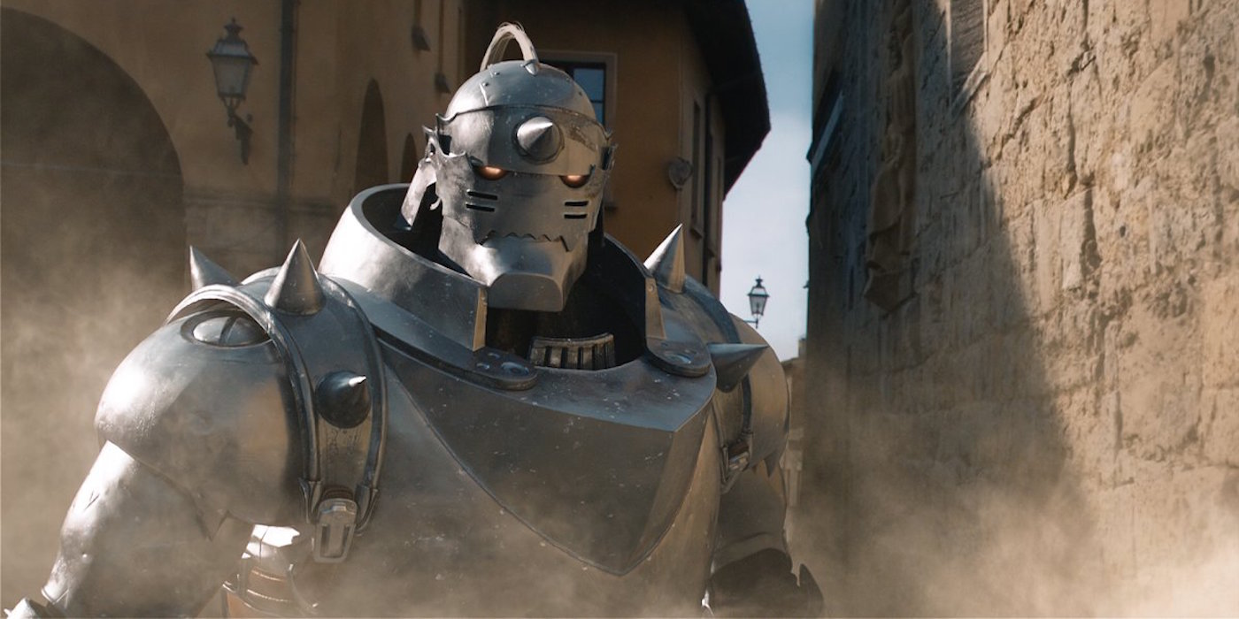 Alphonse from Live Action Fullmetal Alchemist Movie