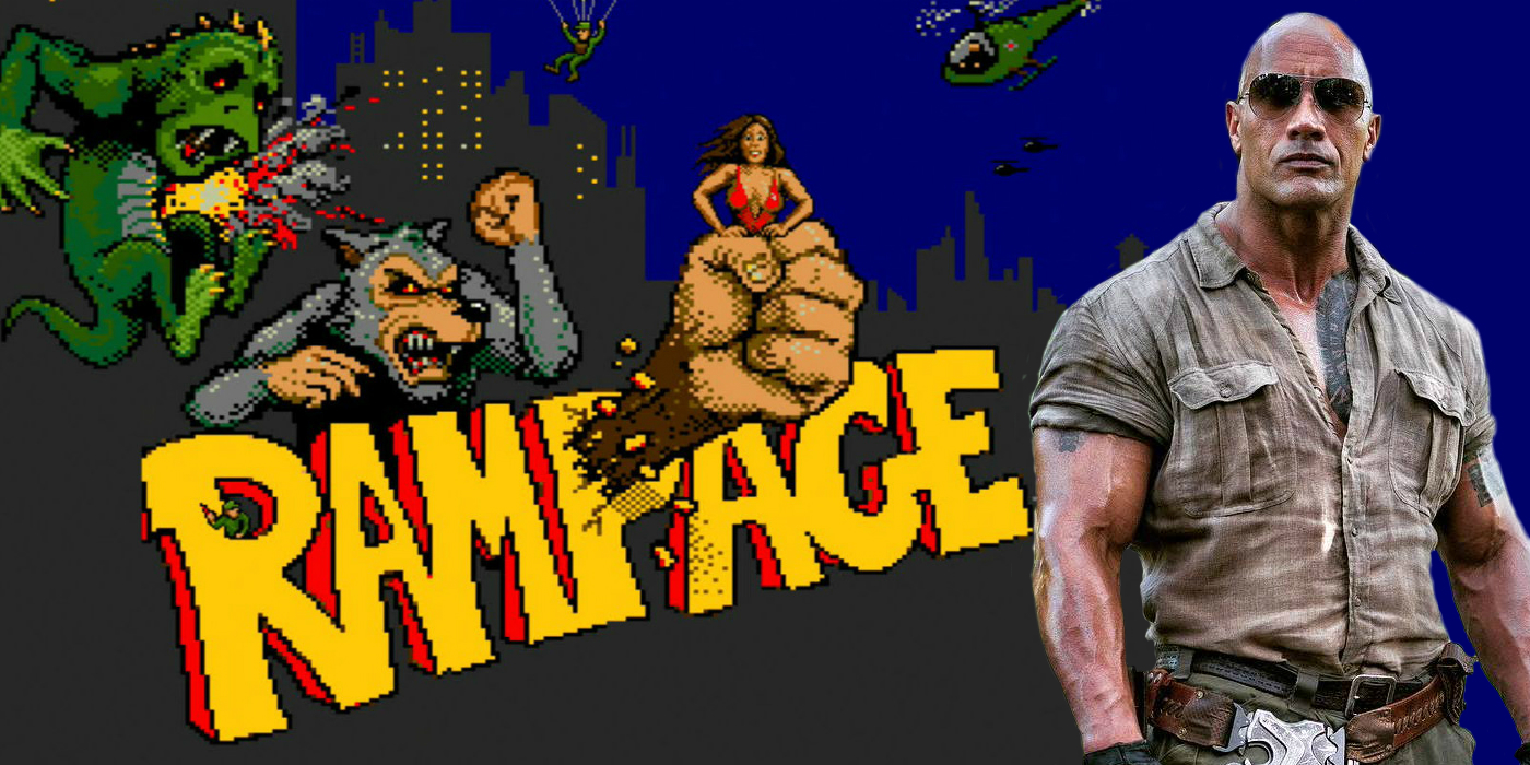 Dwayne The Rock Johnson Rampage