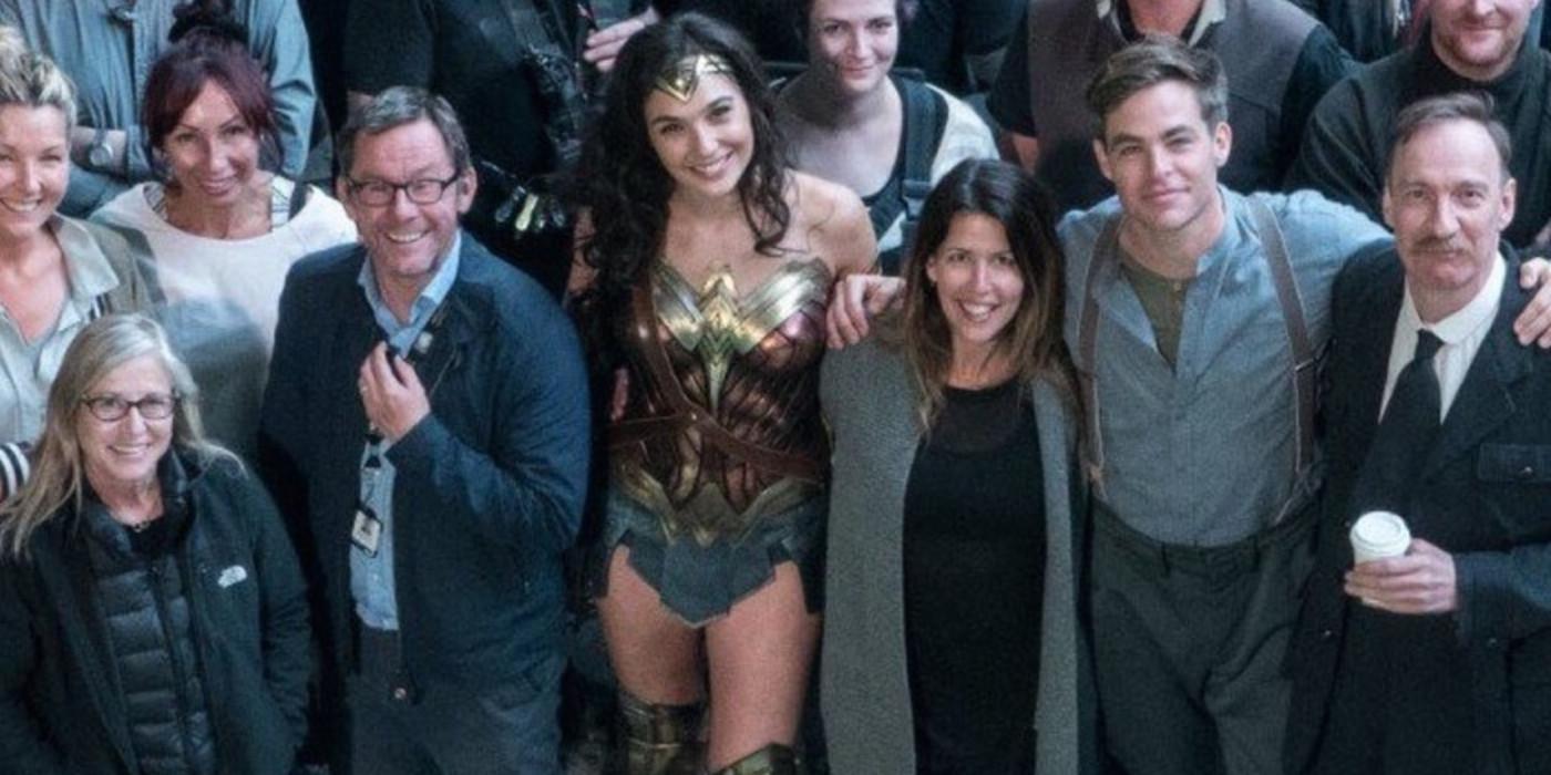Gal Gadot Patty Jenkins Wonder Woman