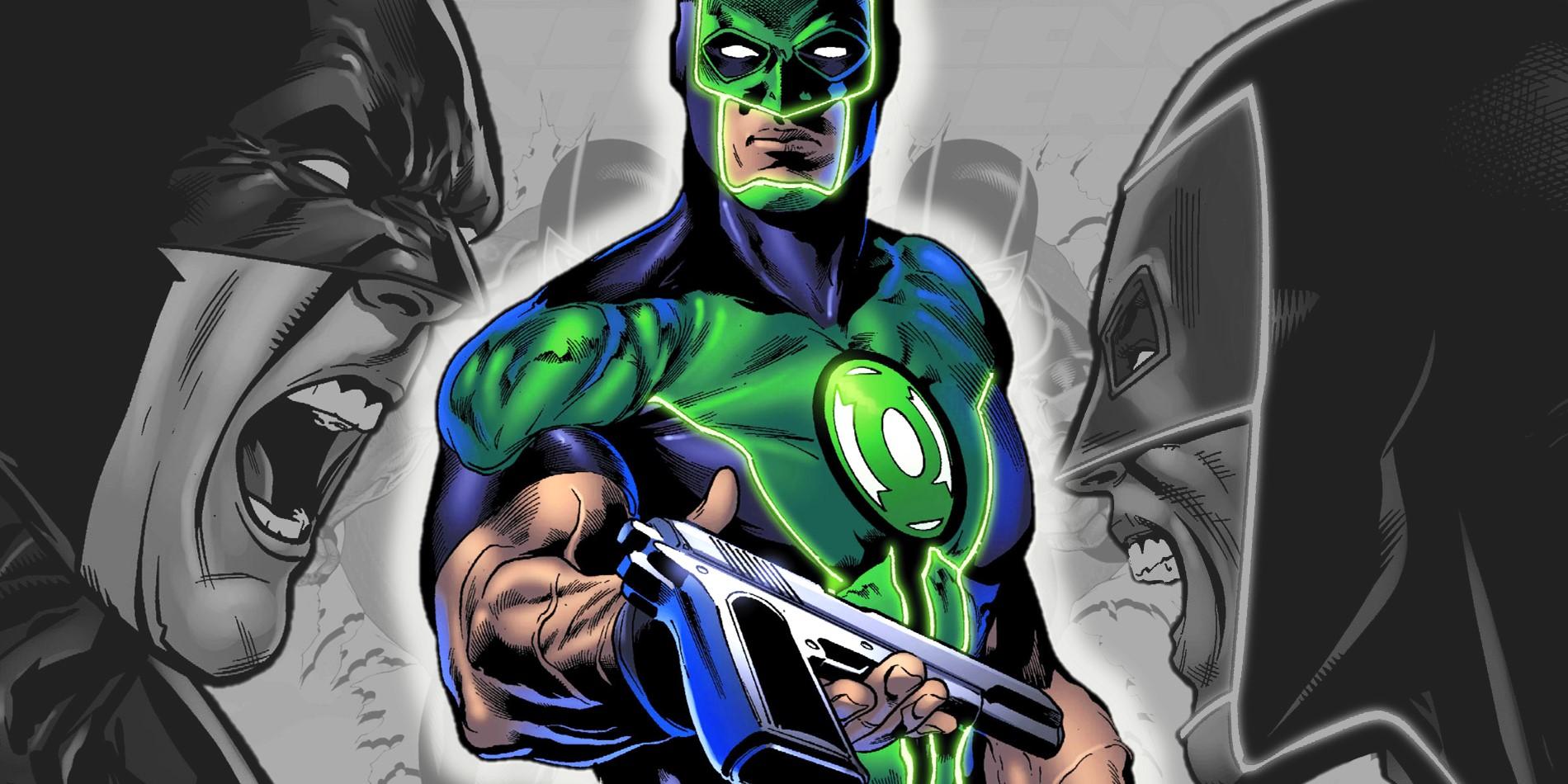 Green Lantern Comic No Gun