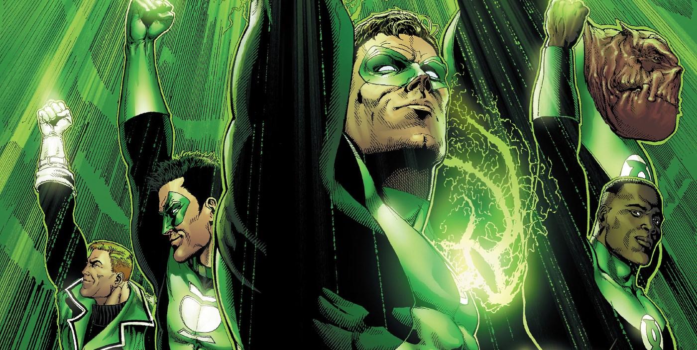 Green Lantern Corps Comic