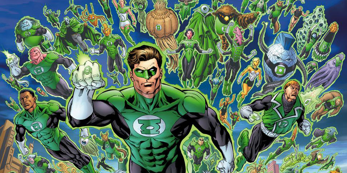 15 Things You Never Knew About The Green Lantern Corps