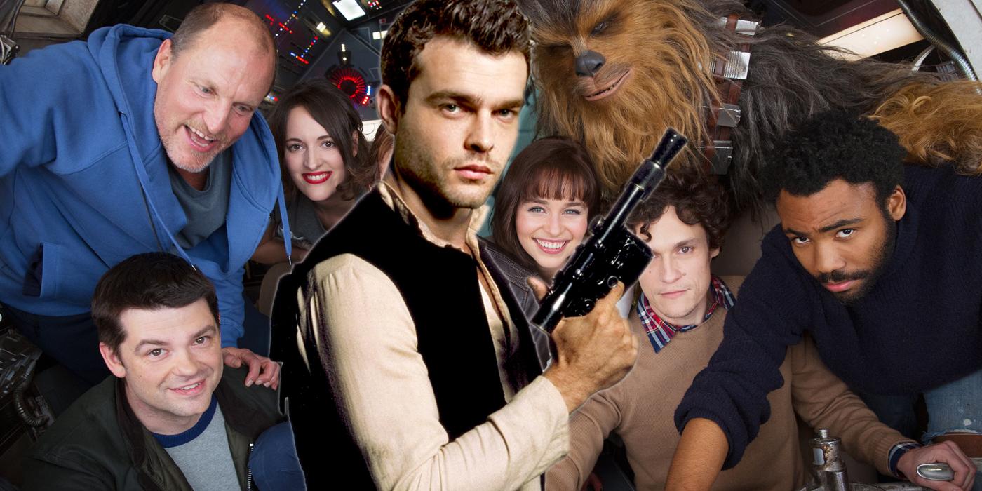 Star Wars Han Solo Image With Alden Ehrenreich as Han Solo