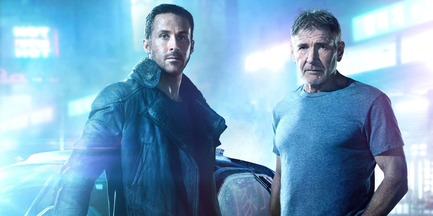 Harrison Ford and Ryan Gosling in Blade Runner 2049