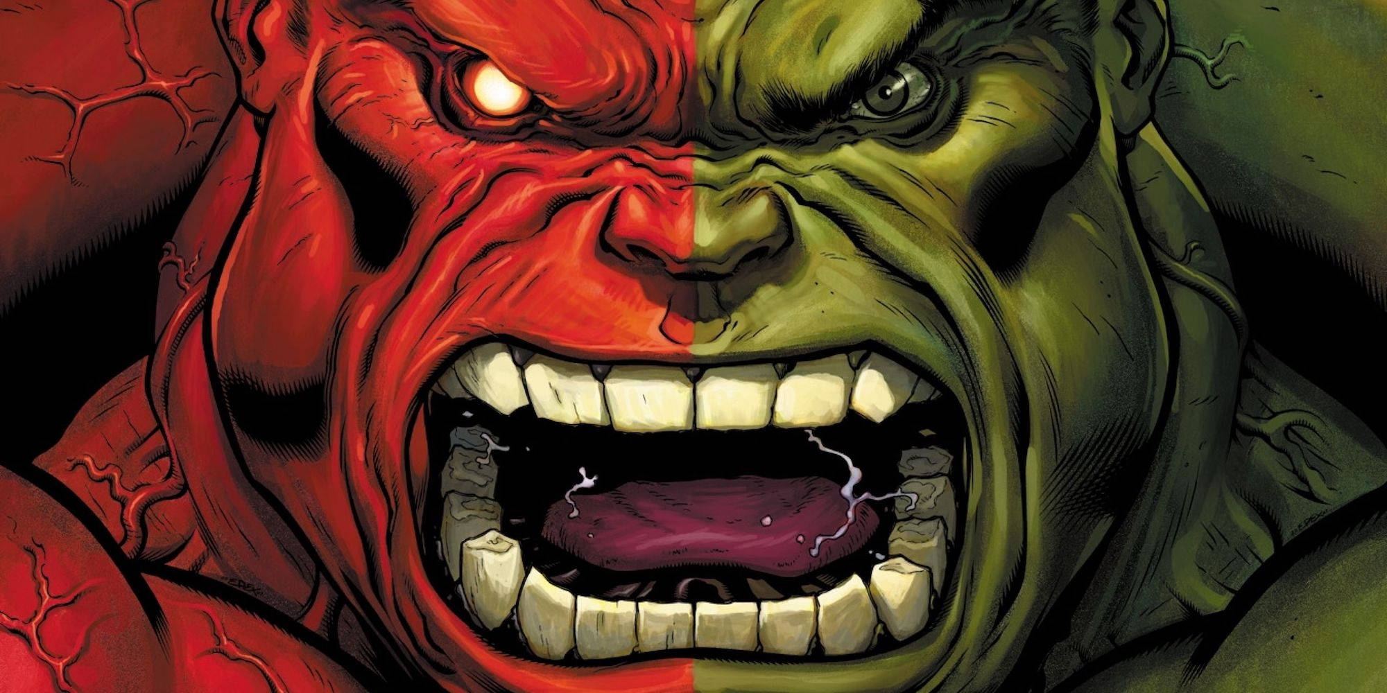Hulk and Red Hulk 15 Marvel Characters Stronger Than The Hulk