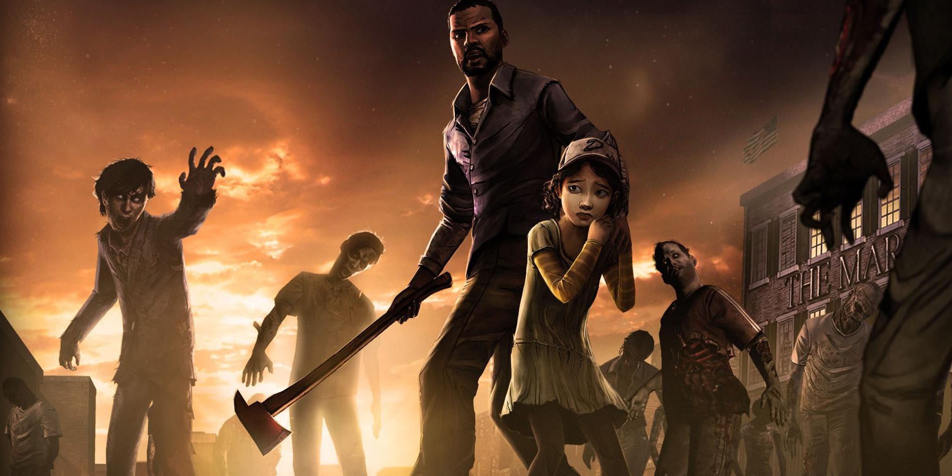 Lee Clementine the Walking Dead