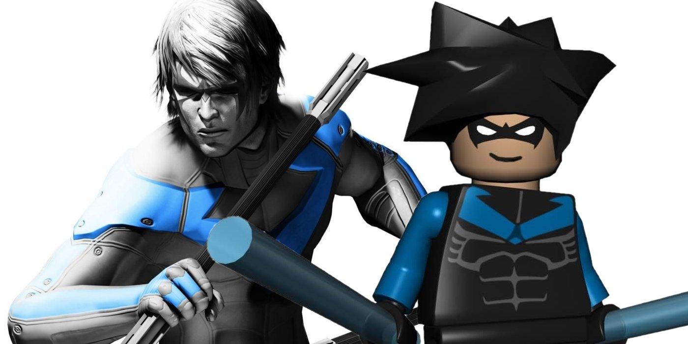 Nightwing Lego