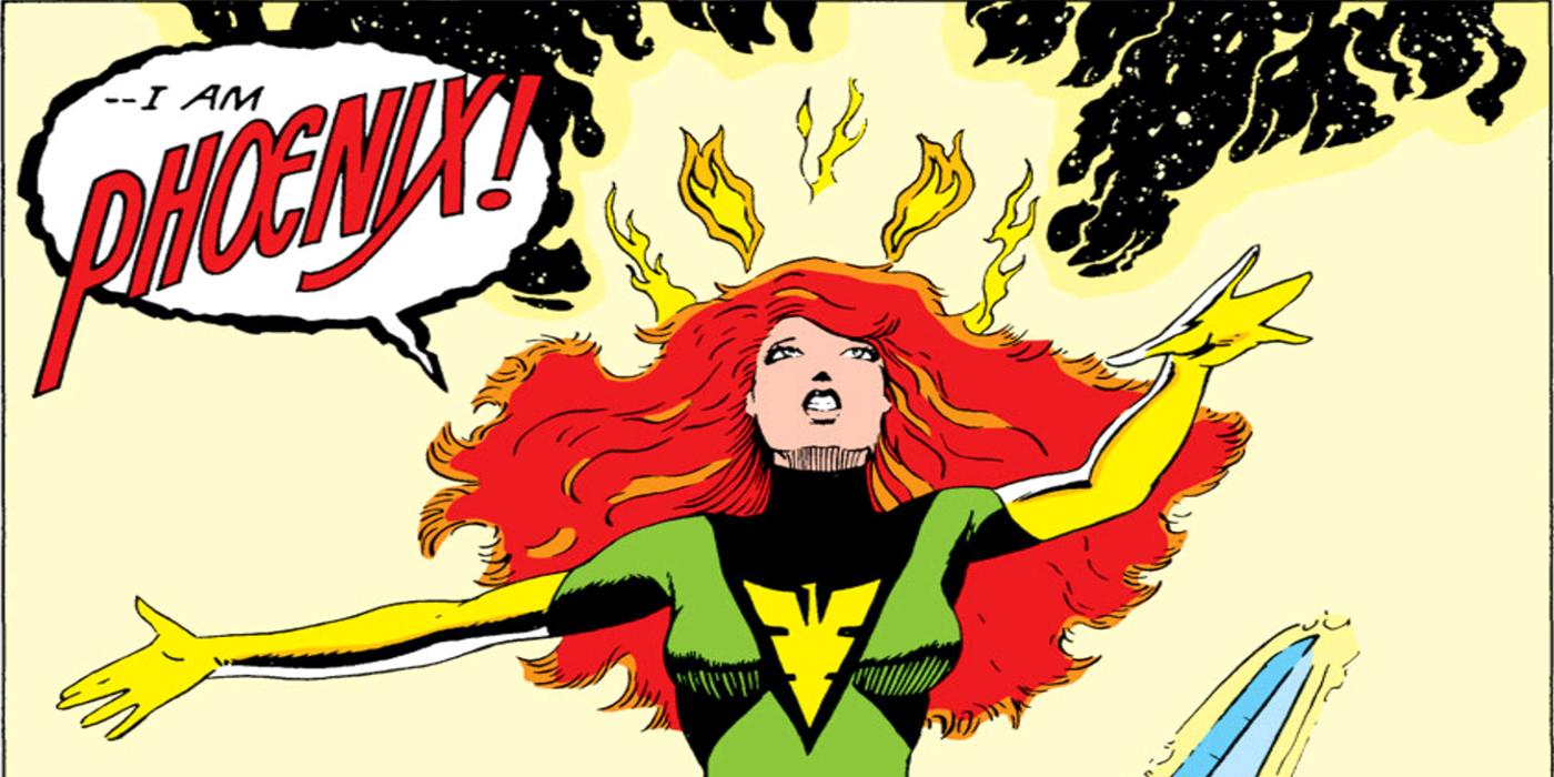 Reconned Phoenix posing as Jean Grey