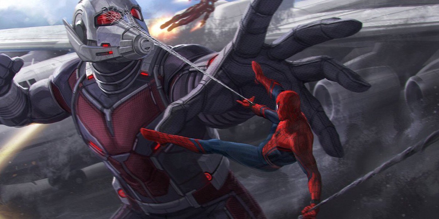 Spider-Man and Ant-Man in Civil War