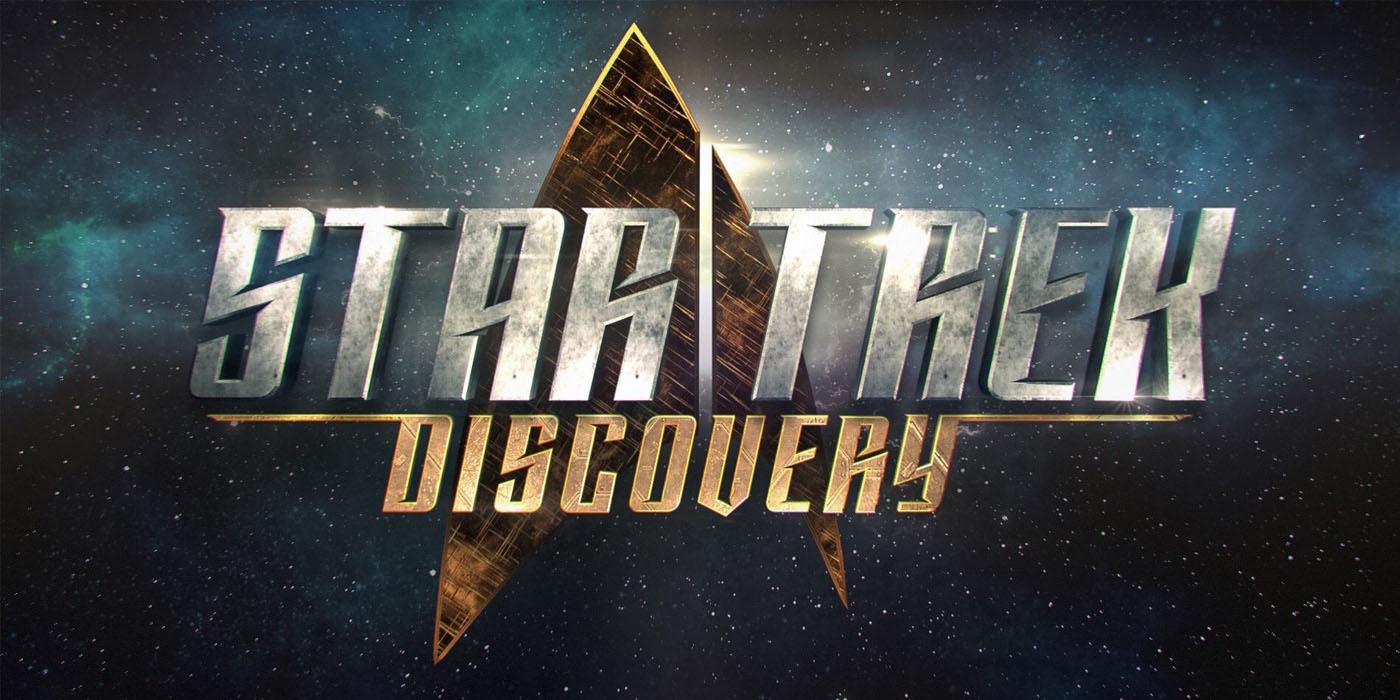 Star Trek Discovery Title Card Logo