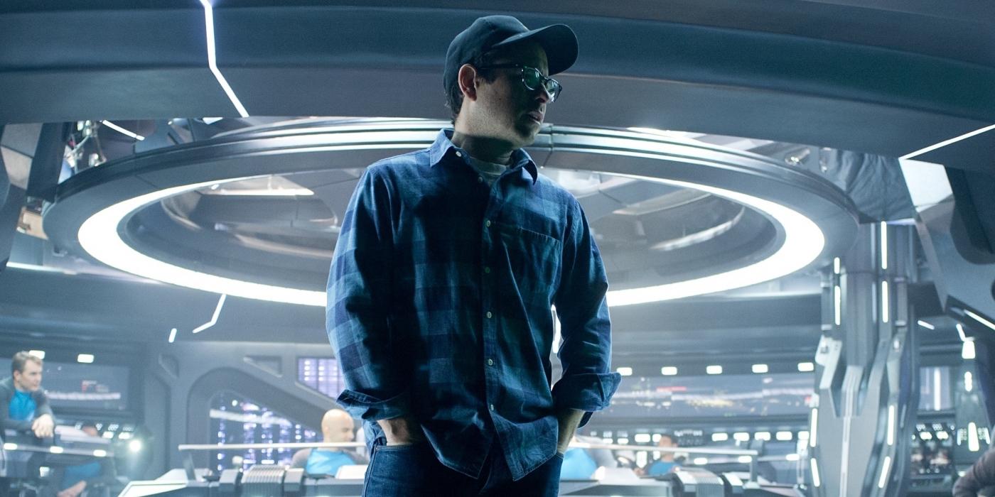 Star Trek Into Darkness JJ Abrams Set