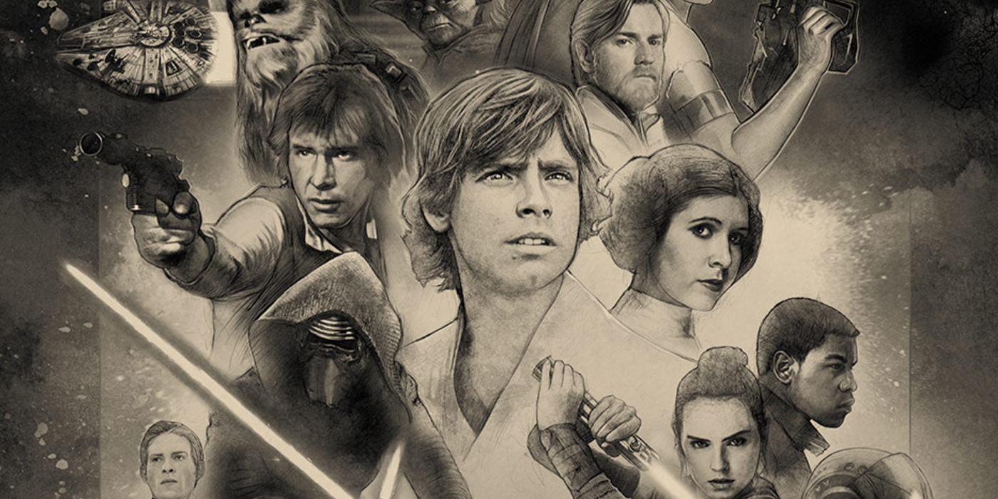 Star Wars 40th Anniversary banner