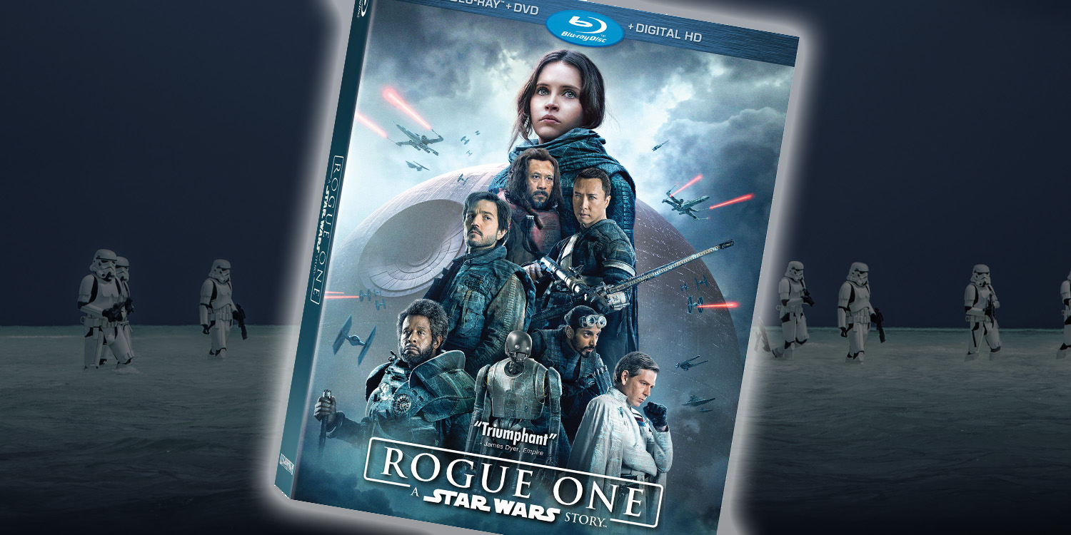 Image result for rogue one blu ray