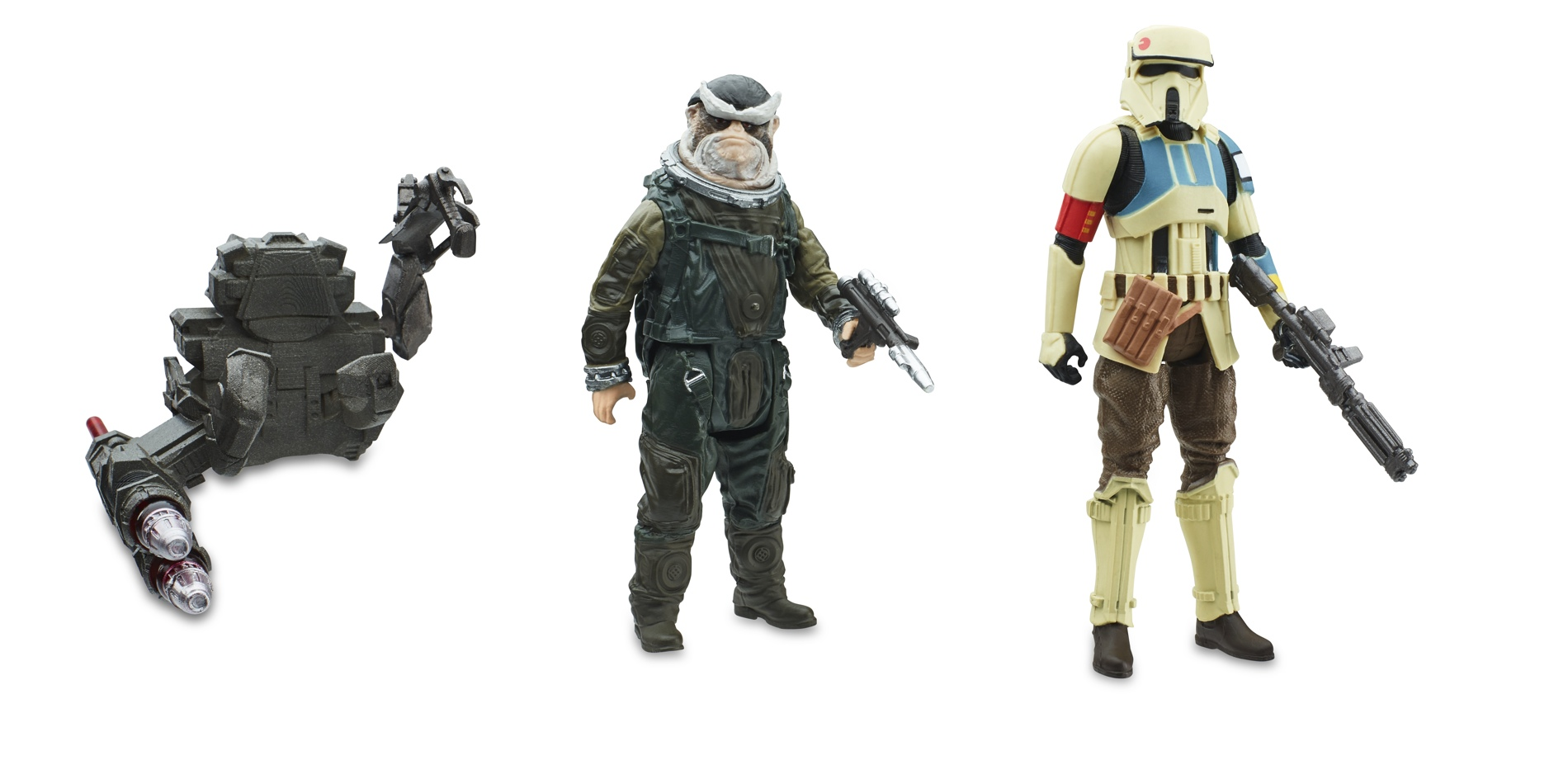 Star Wars Toys : Exclusive new wave of rogue one figures revealed