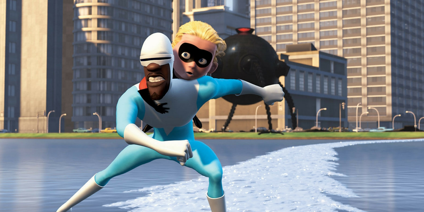The Incredibles - Frozone and Dash