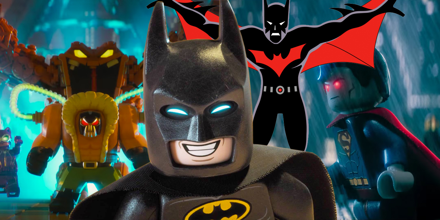 The Lego Batman Movie Easter Eggs