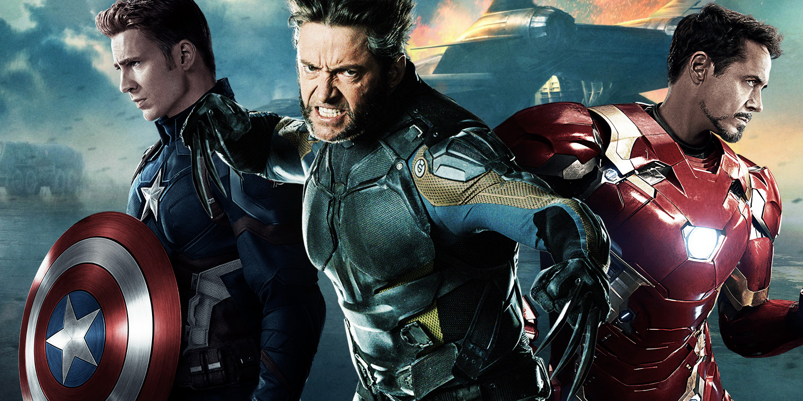 Wolverine, Captain America, and Iron Man Crossover