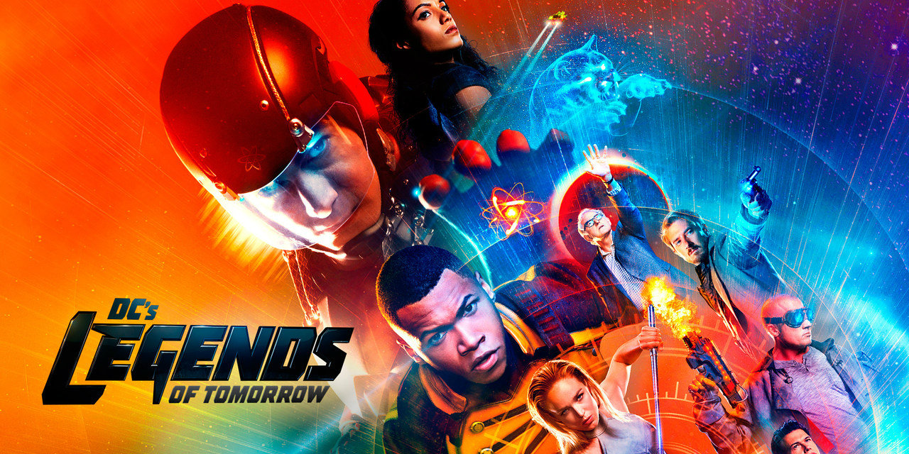 Legends of Tomorrow season 2 banner