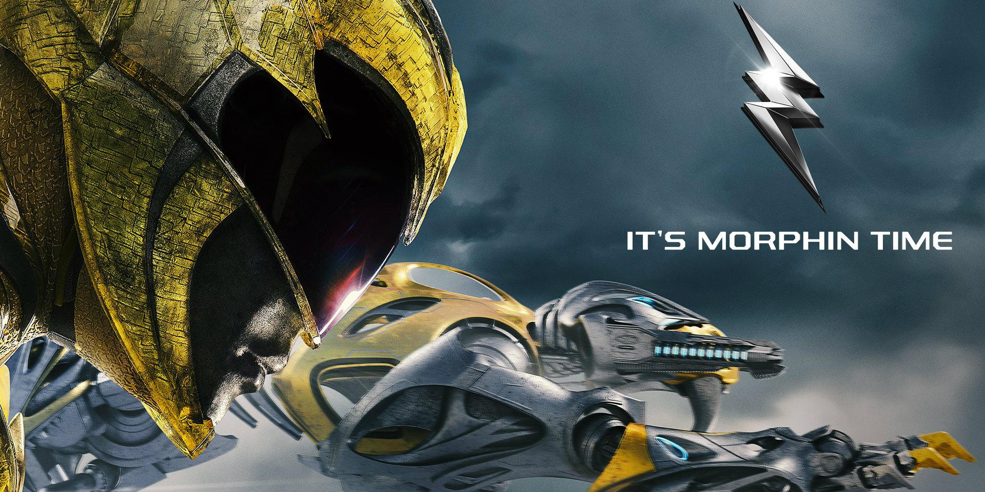 Power Rangers 'Training Mode' Banner - Yellow Ranger