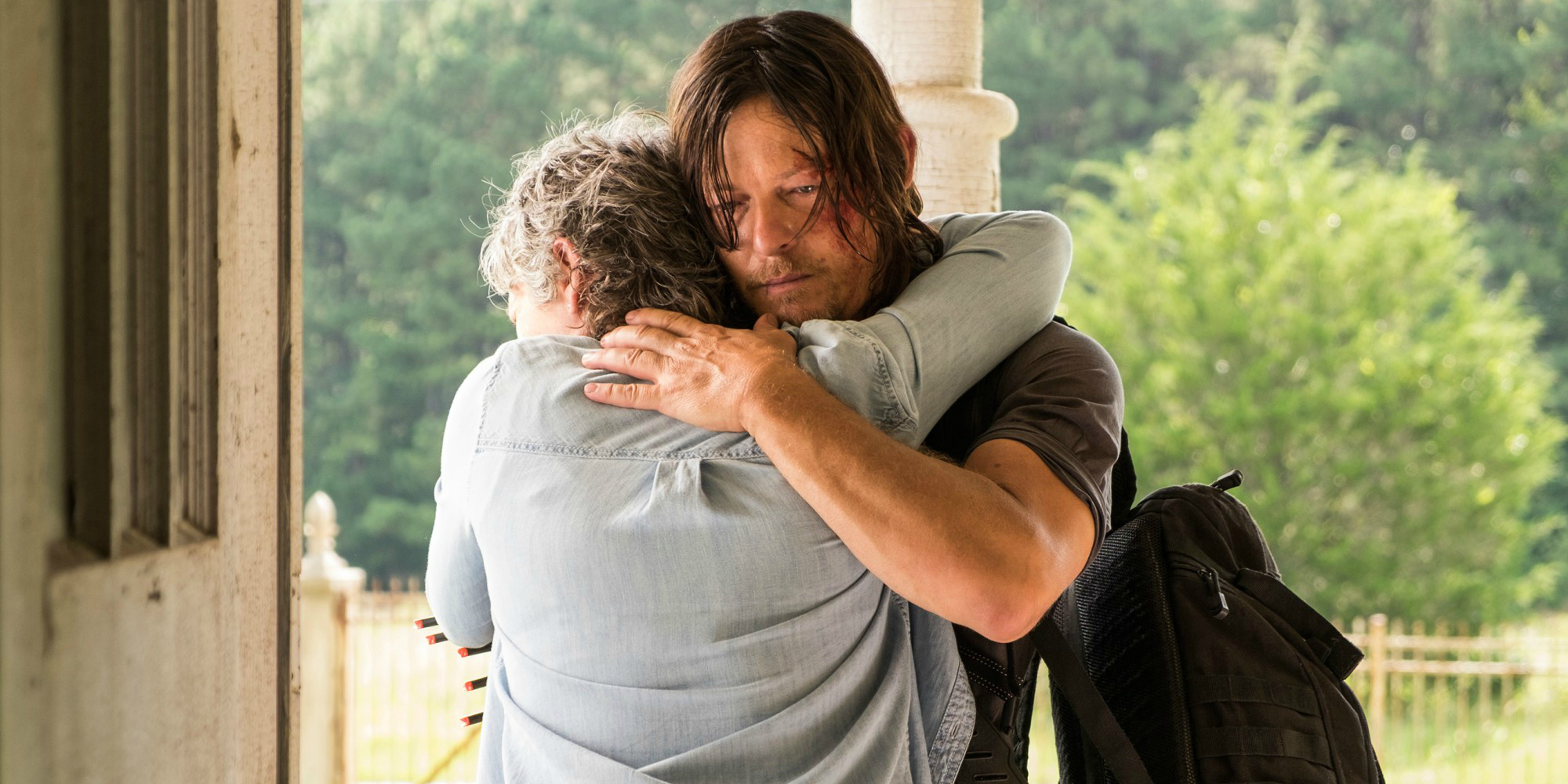 Why Daryl Lied to Carol on The Walking Dead