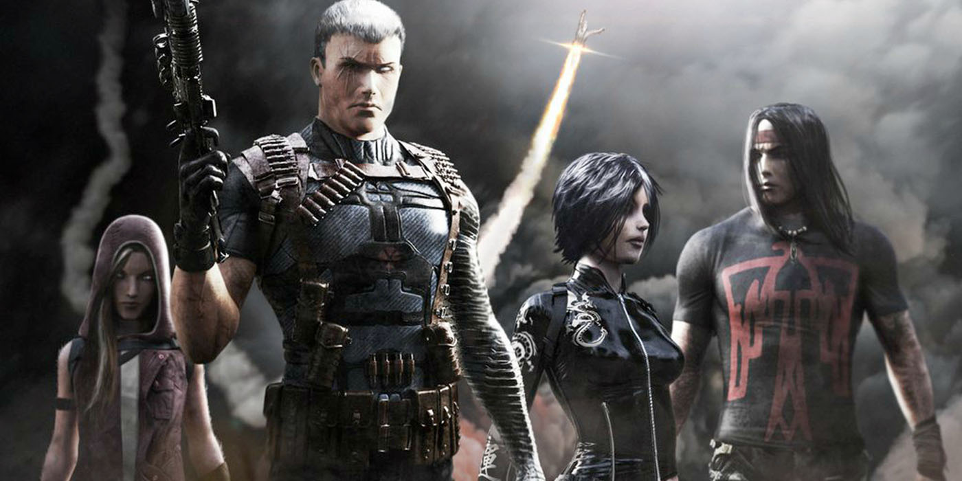 Concept art for X-Force movie