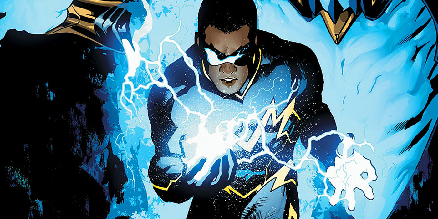 15 Black Lightning Origin