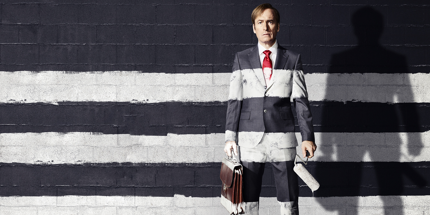 Better call saul season 3 poster jimmy gets his stripes for Better call saul