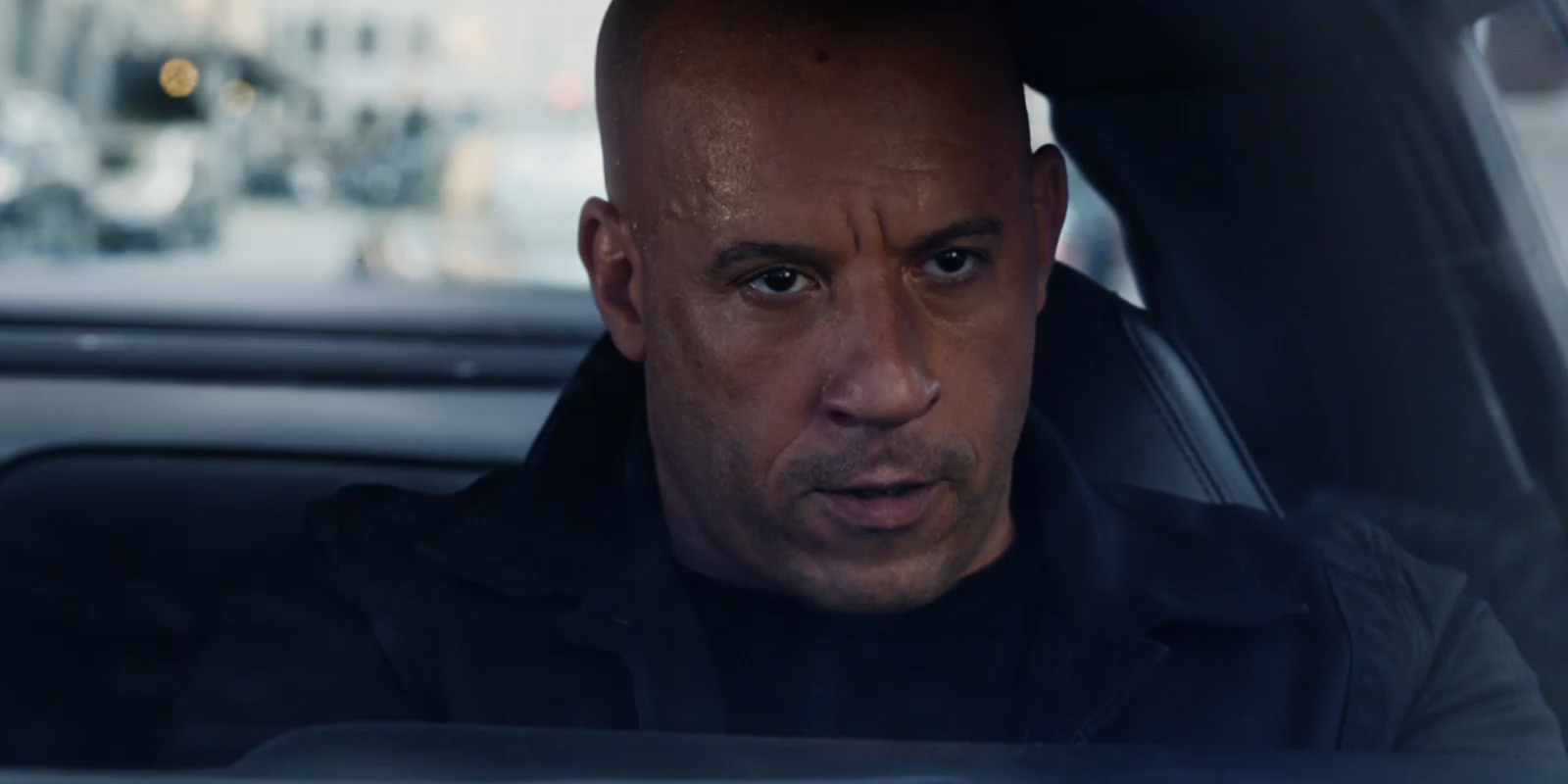 Vin Diesel as Dominic Toretto in Fate of the Furious