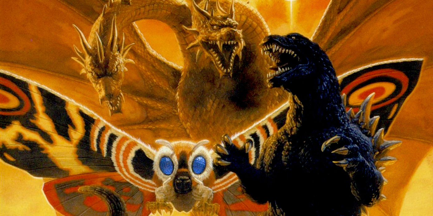 Godzilla Mothra and King Ghidora