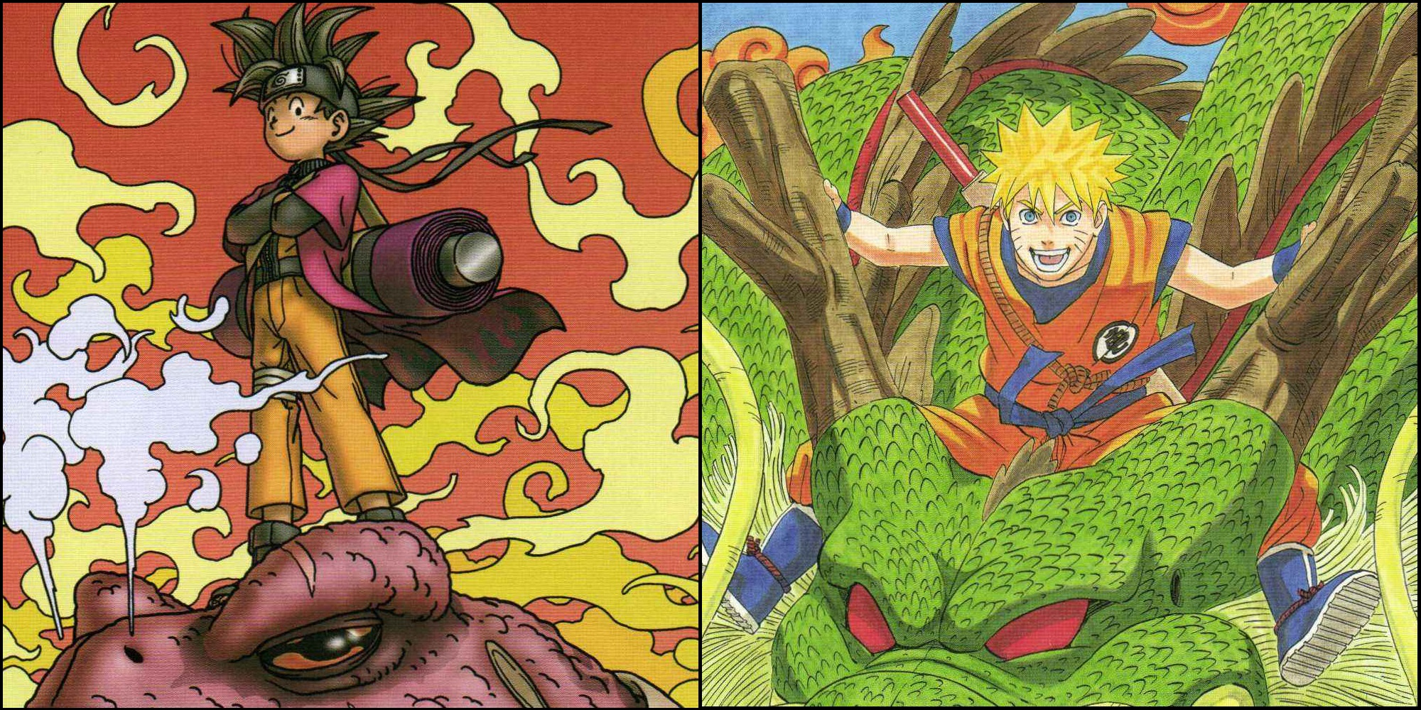 15 times dragon ball z crossed over with other series - Naruto and dragonball z ...