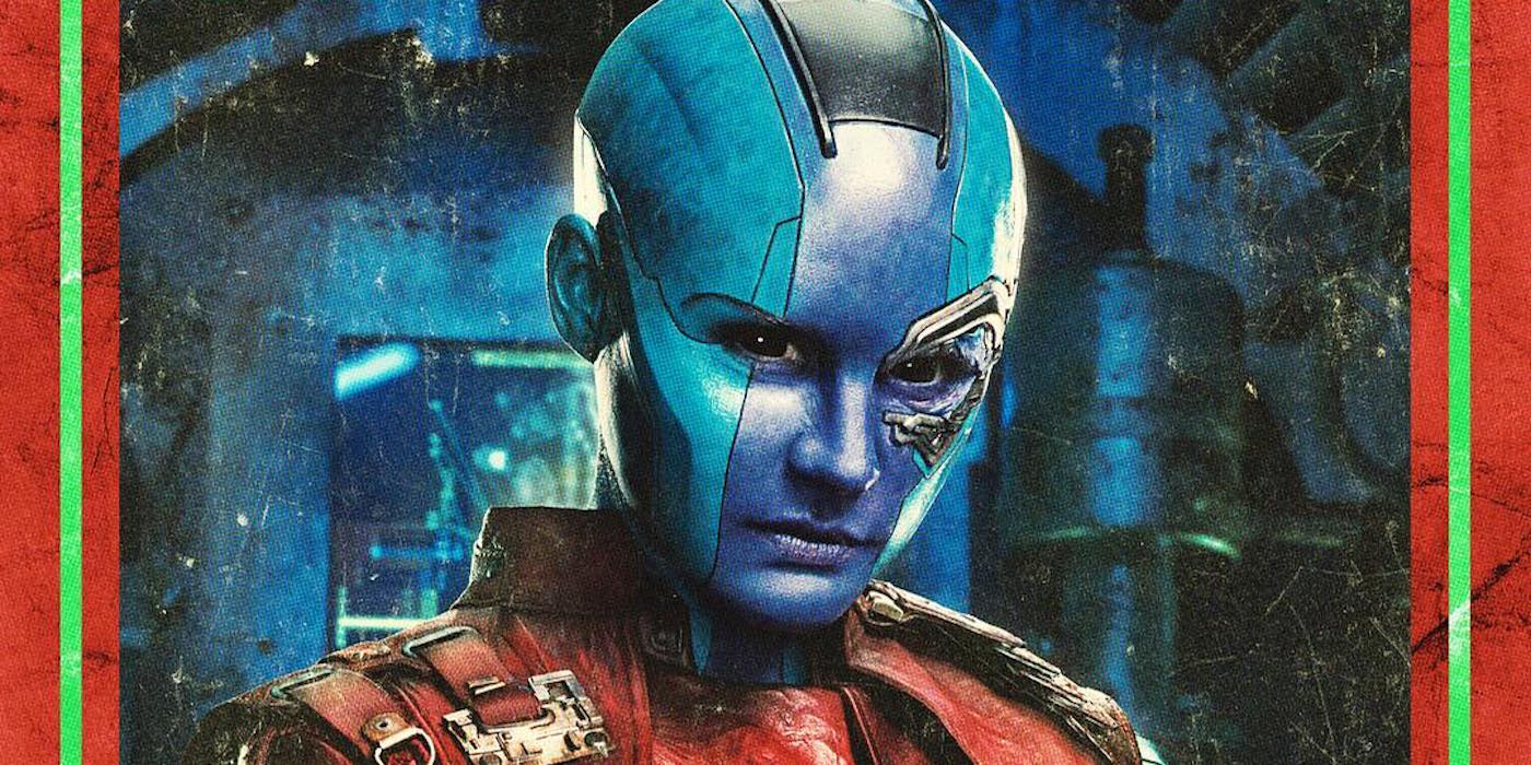 Guardians of the Galaxy Vol 2 Character Poster for Nebula - Cropped