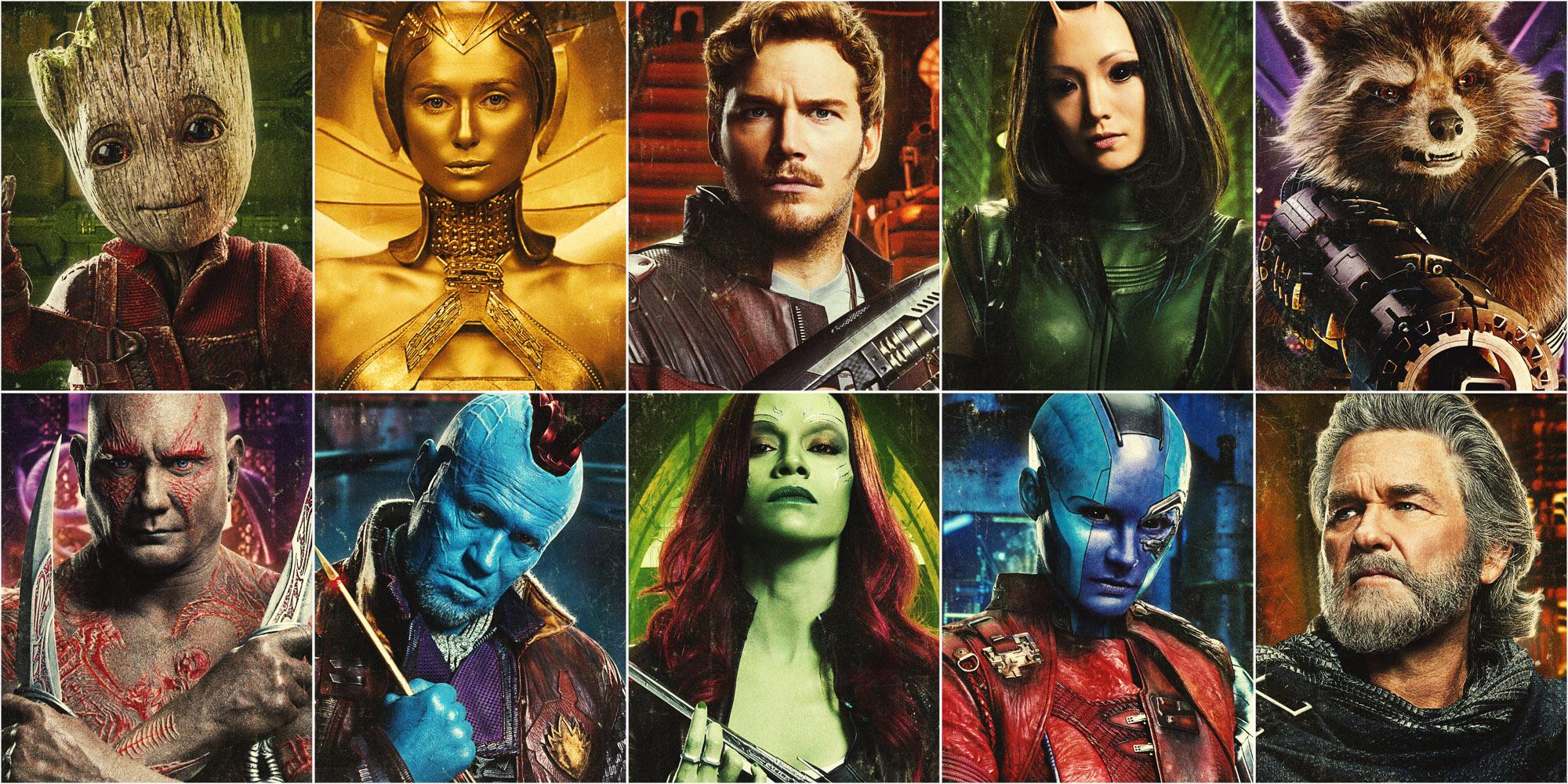 Resultado de imagen de guardians of the galaxy 2 set