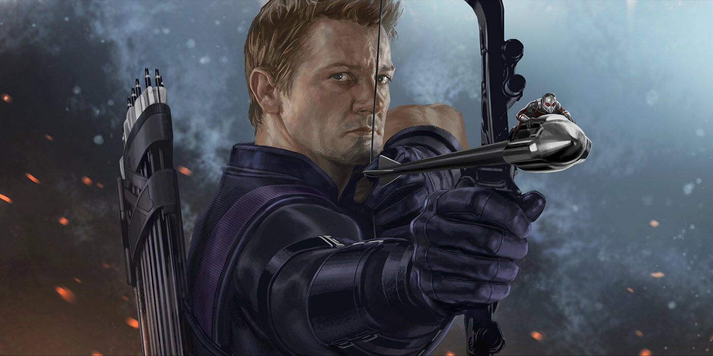 Jeremy Renner Heads To Infinity War Set Screen Rant