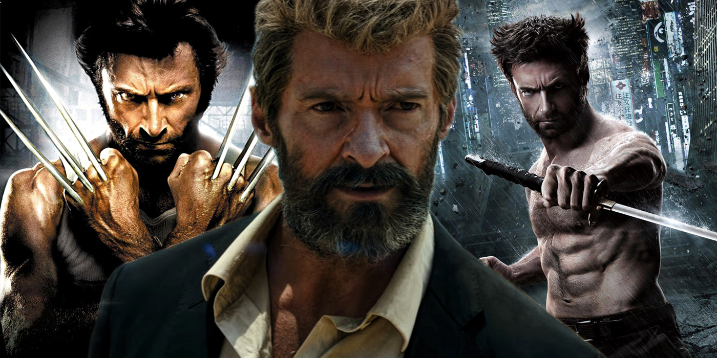 Hugh Jackman as Wolverine in X-Men Origins The Wolverine and Logan